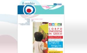Screenshot della homepage della Cooperativa Sociale Il Cerchio.